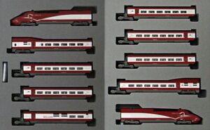 Kato 10-1657 Thalys PBA New Painting 10 Cars Set (N scale)