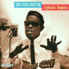 LIGHTNIN' HOPKINS, THE VERY BEST OF, US 16 TRACK CD ALBUM FROM 1999, (MINT)