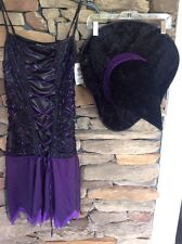 Totally Ghoul Teen's Wicked Fairy Witch Halloween Costume NEW One Size Teen