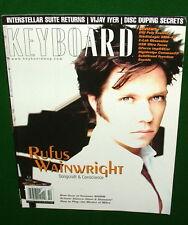 2004 Rufus Wainwright, DSI Poly Evolver USB Ultra Focus Rev'w Keyboard Magazine