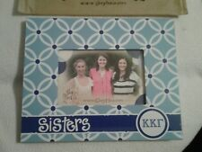 "Kappa Kappa Gamma Sisters Picture Frame Glory Haus Blue 10"" x 8"", Photo 4"" x6"""