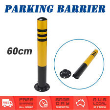 Removable Padlock Parking Barrier Vehicle Car Security Bollard + Lock & Bolt