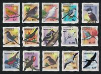 Dominica Warbler Chat Kingfisher Frigatebird Tern Booby Hummingbird Birds 15v