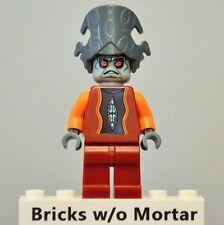 New Genuine LEGO Nute Gunray Minifig Star Wars 7958 8036