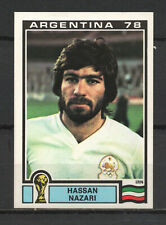 Decal/Sticker - Panini Argentina 1978 Hassan Nazari No.280