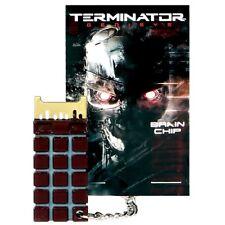 TERMINATOR 2 T2 GENISYS T-800 Brain Chip CPU Prop Replica Key Chain New