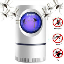 Electric Mosquito Trap Insect Killer LED Light Fruit Fly Bug Pest Control Lamp