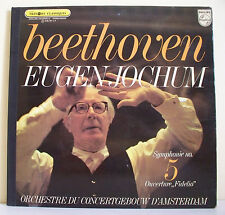 "33T BEETHOVEN Vinyl LP 12"" Symphonie N° 5 Eugen JOCHUM Amsterdam PHILIPS 839.781"