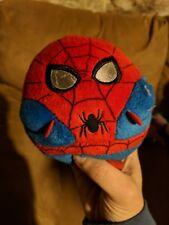"RARE Ty Spiderman Plush Ball 2012 Marvel 5"""