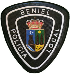 Policía Local Beniel Police Dept parche insignia emblema texflex EB01749