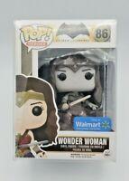 Funko Pop DC Comics Bombshells Wonder Woman #86 Walmart Exclusive Black & White