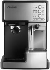 Sunbeam Cafe Barista Coffee Machine - Black/Silver