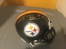 Pittsburgh Steelers LaMarr Woodley Autographed Mini Helmet