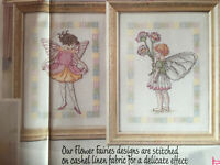 CROSS STITCH CHART Flower Fairies Columbine Fairy + Daisy Fairy DMC  PATTERN