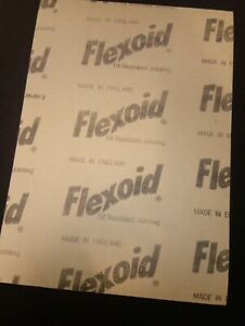 Flexoid Gasket Paper 500mm X 500mm Sheet 0.5mm Thick