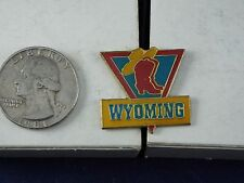 WYOMING COWBOY BOOTS AND HAT PIN