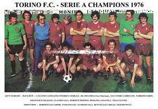 TORINO f.c.team STAMPA 1976 (Serie A Champions) (GRAZIANI / PECCI)