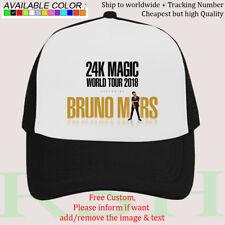 a8343cac621df Hat Cap Bruno Mars THE 24K MAGIC WORLD TOUR Album Concert