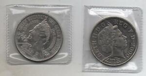 2000 £5 Five Pound Coin Queen Elizabeth The Queen Mother