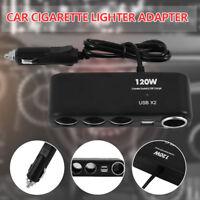 12/24V multi prise allume-cigare séparateur chargeur voiture USB adaptateur CP