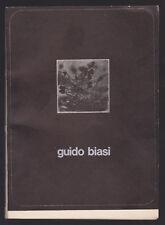 GUIDO BIASI GALLERIA BLU MILANO 1974