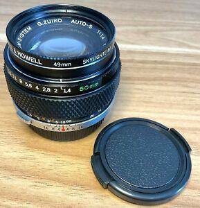 Olympus OM G.Zuiko MC 50mm f/1.4 Auto-S Lens - Great Condition & LOVELY Optics