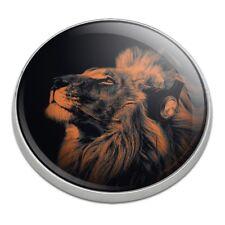 Lion Wearing Headphones Music Golfing Premium Metal Golf Ball Marker