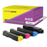 4 Toner Cartridges for Kyocera TK590 FS-C5250DN FS-C2126MFP FS-2626MFP Printer
