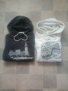 ABERCROMBIE AND FITCH MEN'S HODDIE LONDON LIMITED EDITION SIZE XL