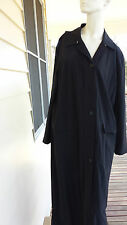 Allegri (Italian designer) Size  44  black full length coat