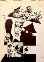 Verotika - Grub Girl Returns - Pg 3 - Original Art - Simon Morse - Glenn Danzig