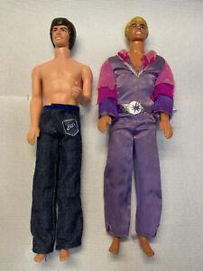 Vintage 1968 Ken & 1988 Steve Doll Figures Mattel, Inc.