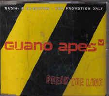 Guano Apes-Break The Line Promo cd single