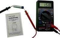 Digital Multimeter 7 Test Functions AC DC Voltage Resistance Current Meter AC DC