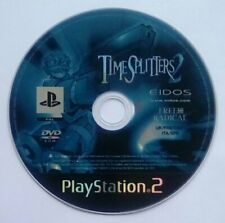 *DISK ONLY* Time Splitters 2 Timesplitters Playstation 2 Two PS2 PSTwo PS