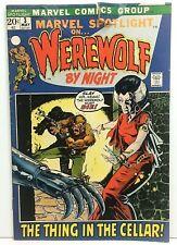 Marvel Spotlight #3 Werewolf By Night 1972 2nd App WEREWOLF BY NIGHT KEY ISSUE
