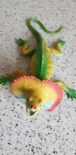 Vintage Frilled Lizard Dragon Toy