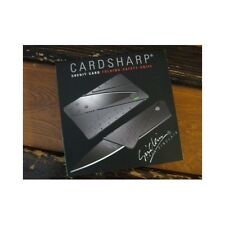 Cardsharp Folding Knife Credit Card Safety Knife Stainless Steel Blade, Lot Of 4