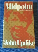 MIDPOINT And Other Poems by John Updike 1ST/3RD  SIGNED  UNREAD  HARDCOVER