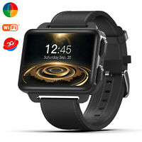 Bluetooth Smart Watch GPS 4GB Video Call 3G WiFi SIM Unlocked Phone For Android