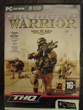 Full Spectrum Warrior  by Focus Multimedia   PC-CD ROM  Version