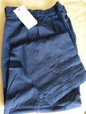 Sapphire trousers, Navy, Cotton - Size Large