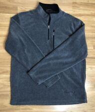 Free Country Mens Sz Medium M Gray Fleece Pullover Sweatshirt Shirt Winter Top