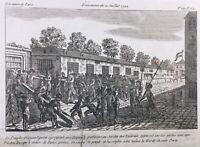 Jardin des Tuileries 1792 Événements du 21 Juillet Révolution Française Paris