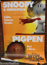 Cinema Banner: SNOOPY AND CHARLIE BROWN THE PEANUTS MOVIE 2015 Snoopy & Pigpen