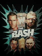 WWE The Bash XL T-Shirt 2009 CM Punk Jeff Hardy Randy Orton Triple H HHH WWF NXT