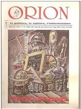 ORION RIVISTA IPOTESI NAZIONE N.10 1996