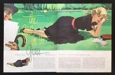 1953 vintage Jon Whitcomb art magazine illustration pages Margery Sharp story