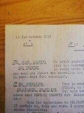 More details for algerian war rare announcement antifellagha- french army 1957