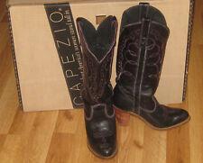 Capezio Women's Cowboy Boots size 5 1/2  Black 3 in Heel